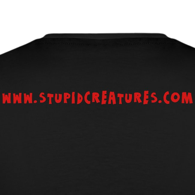 Stupid Creatures Red Logo for Men
