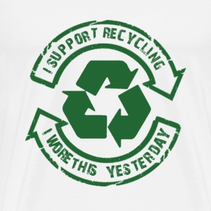 RECYCLING - Men's Premium T-Shirt