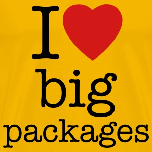 Big packages Christmas t-shirts - Men's Premium T-Shirt