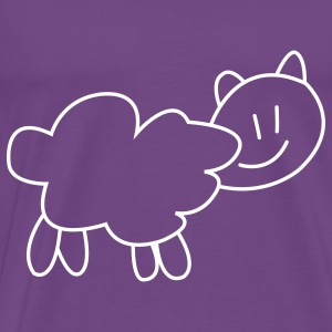Sheep New Zealand t-shirts - Men's Premium T-Shirt