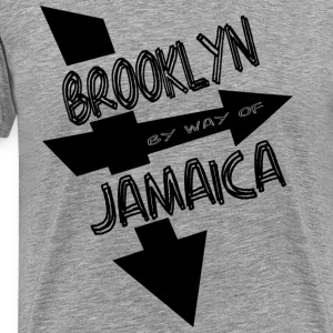 Ash  Brooklyn By Way Of Jamaica 2010--DIGITAL DIRECT PRINT T-Shirts - Men's Premium T-Shirt