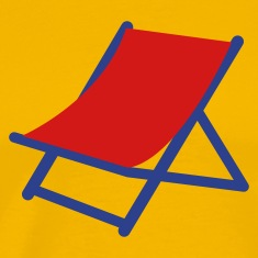 Gold SUMMER deck chair T-Shirts