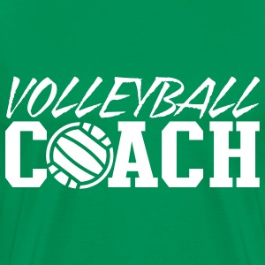 Kelly green volleyball coach T-Shirts - Men's Premium T-Shirt