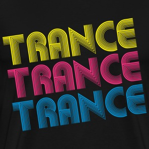 Black Fancy Trance T-Shirts - Men's Premium T-Shirt