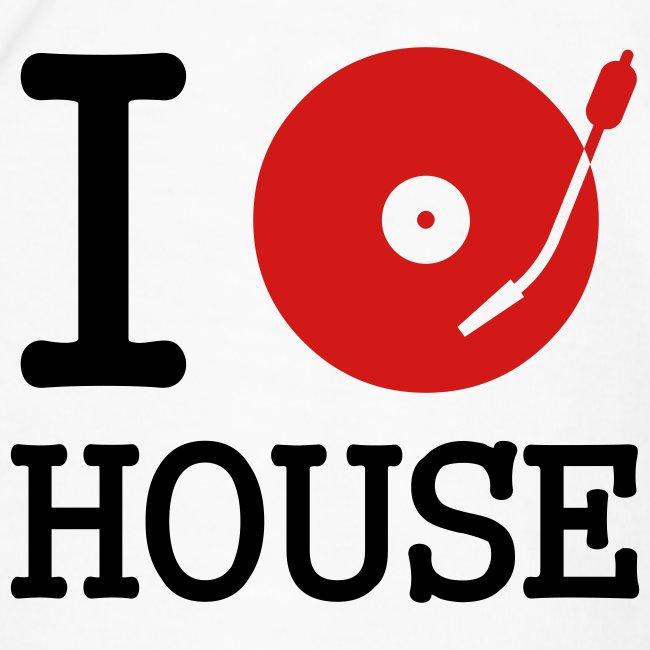 I Spin House (White T)