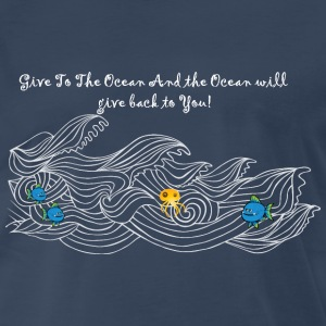 Ocean Waves - Men's Premium T-Shirt