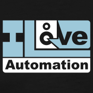 Design ~ I Love Automation (Small Logo)