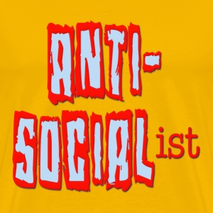Anti-Soicialist T-Shirts - Men's Premium T-Shirt