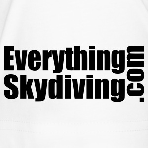 Skydiver With Sun Rays - Men's Premium T-Shirt
