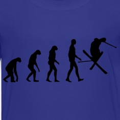 evolution ski Kids' Shirts