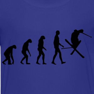 evolution ski Kids' Shirts - Kids' Premium T-Shirt