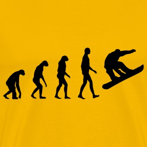 evolution snowboard T-Shirts - Men's Premium T-Shirt