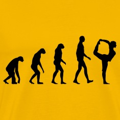 evolution yoga T-Shirts