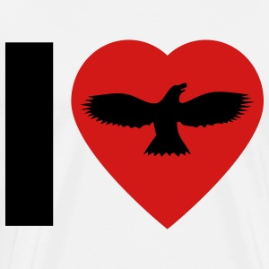 I Love Birds - Men's Premium T-Shirt