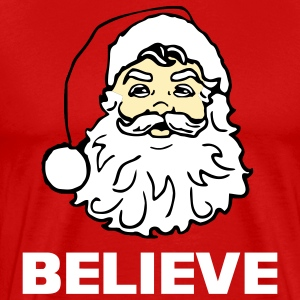 I Believe In Santa Claus - Men's Premium T-Shirt
