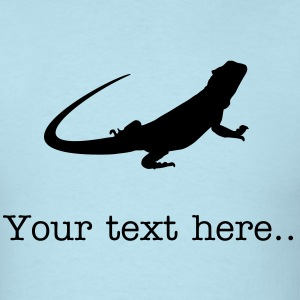 Beardie T-Shirt with text - Men's T-Shirt