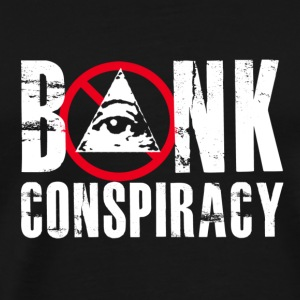 NWO Bank Conspiracy - Men's Premium T-Shirt