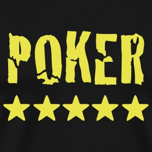 poker T-Shirts - Men's Premium T-Shirt