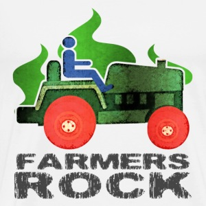 Farmers Rock T-Shirt - Men's Premium T-Shirt