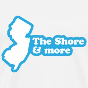 New Jersey - The Shore and More T-shirt - Men's Premium T-Shirt