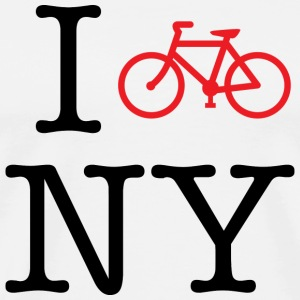 I Bike New York T-shirt - Men's Premium T-Shirt
