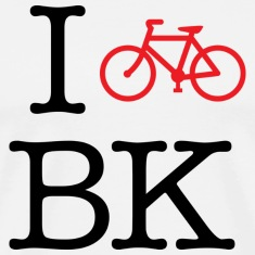 I Bike Brooklyn T-shirt