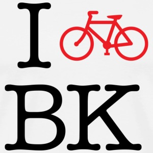 I Bike Brooklyn T-shirt - Men's Premium T-Shirt