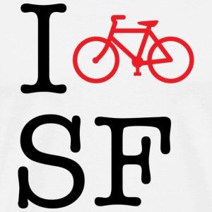 I Bike San Francisco T-shirt - Men's Premium T-Shirt