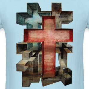 Crosses in Perspective - Men's T-Shirt