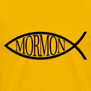 Mormon Fish T-Shirts - Men's Premium T-Shirt