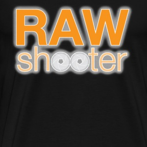 Raw shooter photographer - Men's Premium T-Shirt