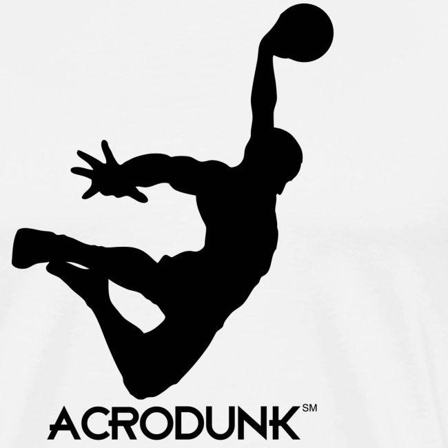 ACRODUNK black logo tee