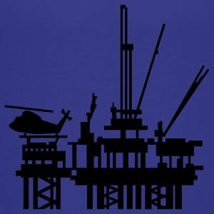 Turquoise offshore oil rig (1c) Kids' Shirts - Kids' Premium T-Shirt