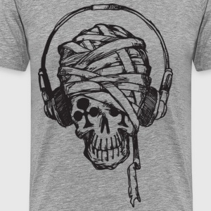 zombie headphones T-Shirts - Men's Premium T-Shirt