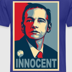 Assange Innocent T-Shirts - Men's Premium T-Shirt