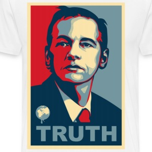 Assange Truth Wikileaks T-Shirts - Men's Premium T-Shirt