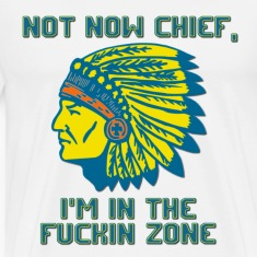 Not Now Chief T-Shirts