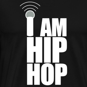 Black I Am Hip Hop T-Shirts - Men's Premium T-Shirt