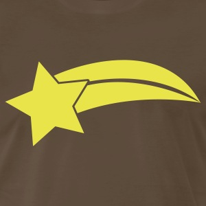 Chocolate SHOOTING STAR T-Shirts - Men's Premium T-Shirt