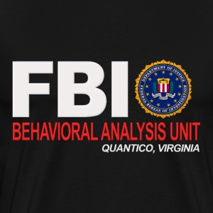 Criminal Minds BAU FBI For Dark Clothing T-Shirts - Men's Premium T-Shirt