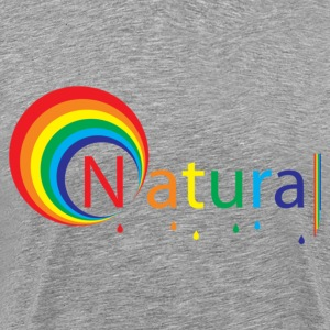 Heather grey natural colour T-Shirts - Men's Premium T-Shirt