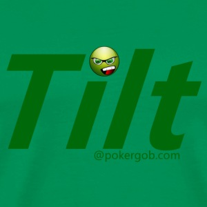 Tilt PokerGob - Men's Premium T-Shirt