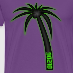 90210 Palm Tree T-Shirts - Men's Premium T-Shirt