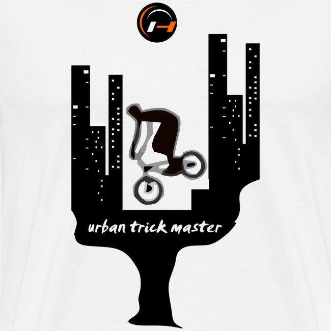 BMX T-shirt Urban Trick Master Natural