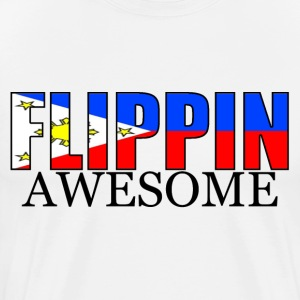 How Flippin Awesome Are You? - Men's Premium T-Shirt