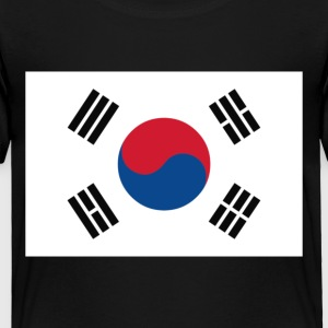 Korean Flag - Toddler Premium T-Shirt