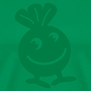 Kelly green Creepy weird creature WEED T-Shirts - Men's Premium T-Shirt