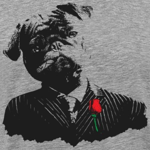 Mobster Pug - Men's Premium T-Shirt