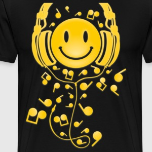 Happy_Music - Men's Premium T-Shirt
