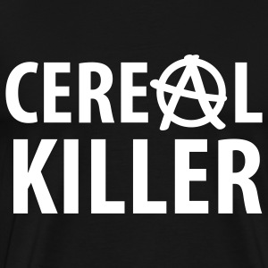 cereal killer (serial killer fun) T-Shirts - Men's Premium T-Shirt